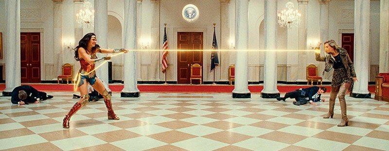 Wonder Woman 1984 Still Cheetah White House Fight