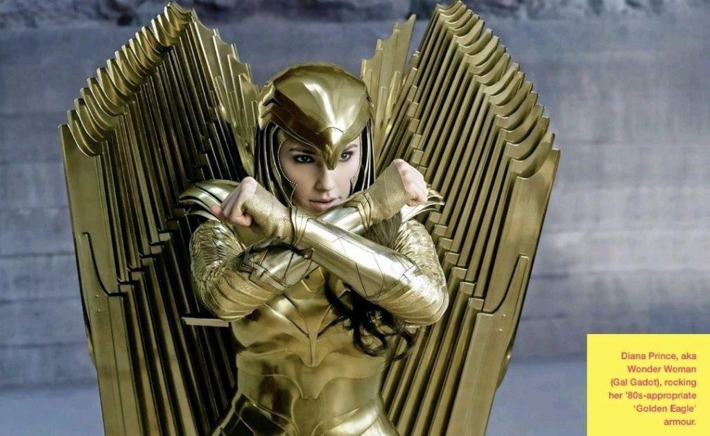 Wonder Woman 1984 Still Golden Armour HQ