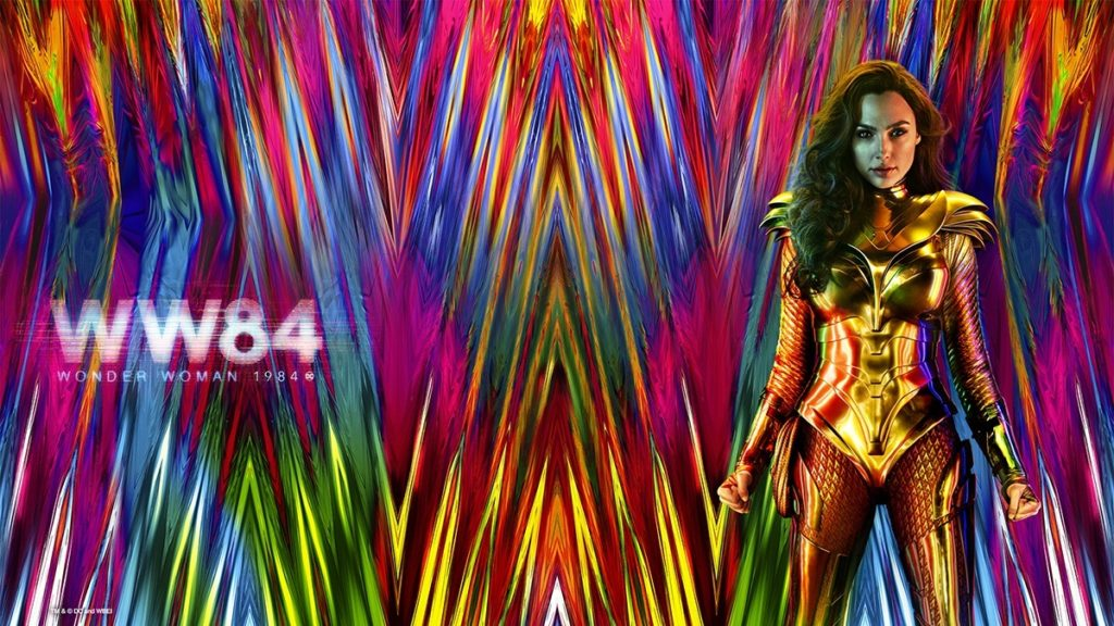 Wonder Woman 1984 Wallpaper Background Video Conference 1