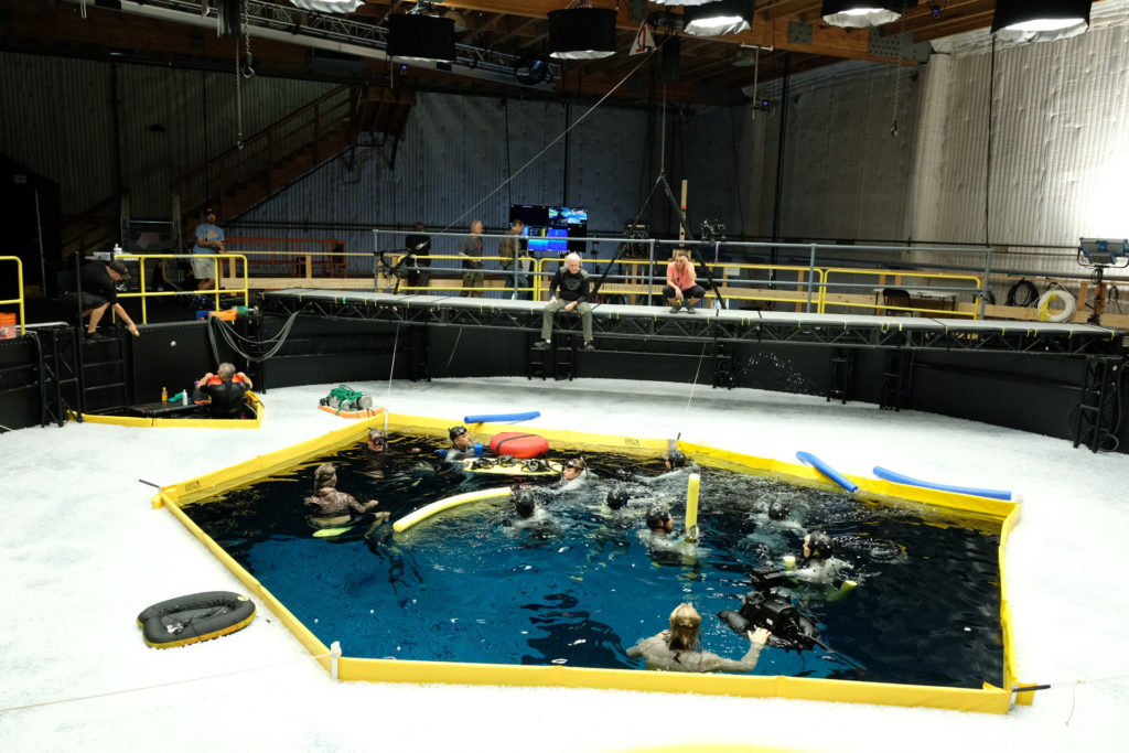 Avatar 2 Set Photo Underwater Filming 1