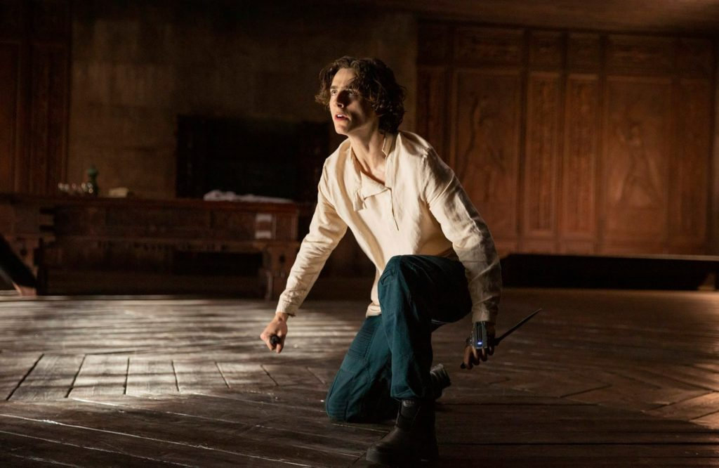 Dune Still 12 Timothee Chalamet as Paul Atreides