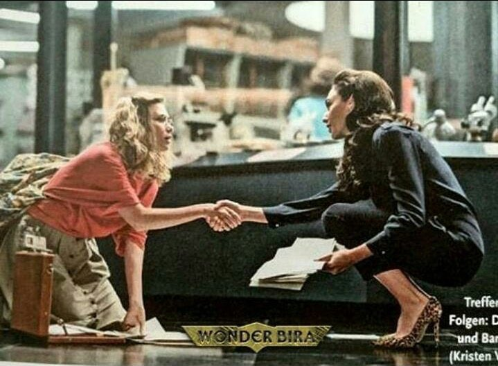 Wonder Woman Still Diana Prince Barbara Ann Minerva