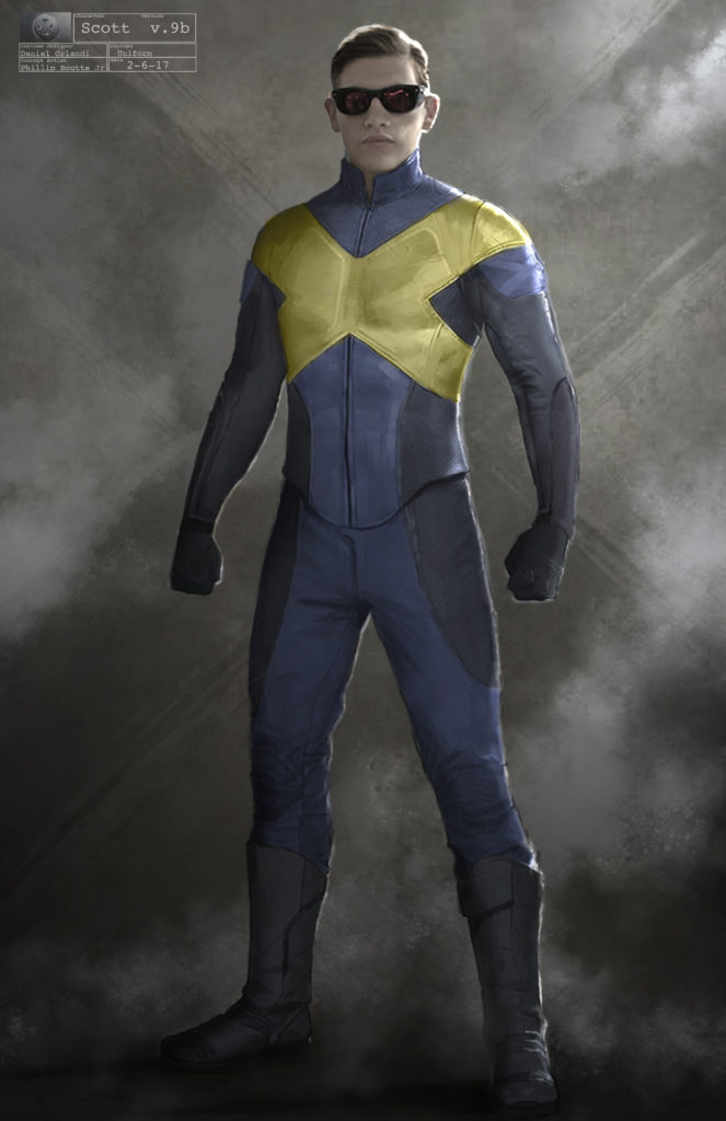 X-Men Dark Phoenix Concept Art 01 Cyclops