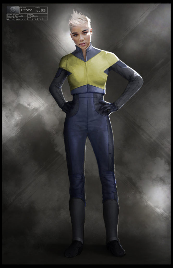 X-Men Dark Phoenix Concept Art 03 Storm