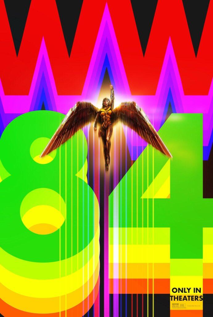 Wonder Woman 1984 DC FanDome Poster