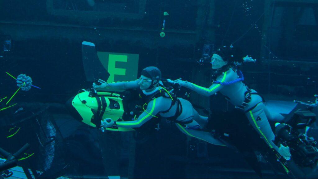 Avatar 2 Set Photo Underwater Filming 4
