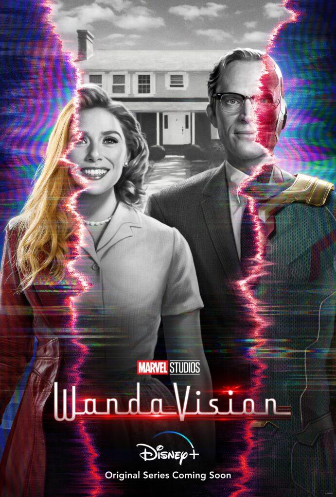 WandaVision Official Poster Disney Plus
