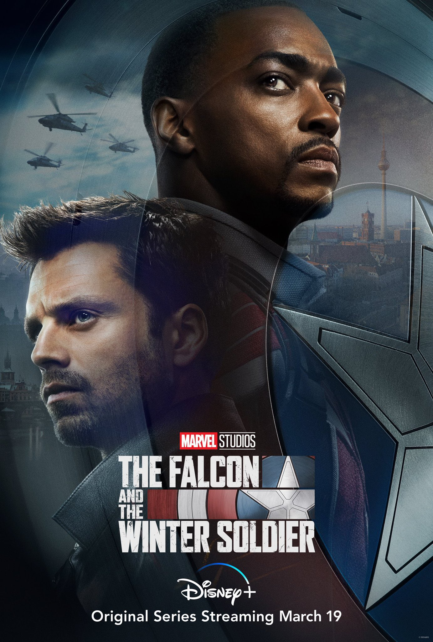 The Falcon And The Winter Soldier DisneyPlus Poster