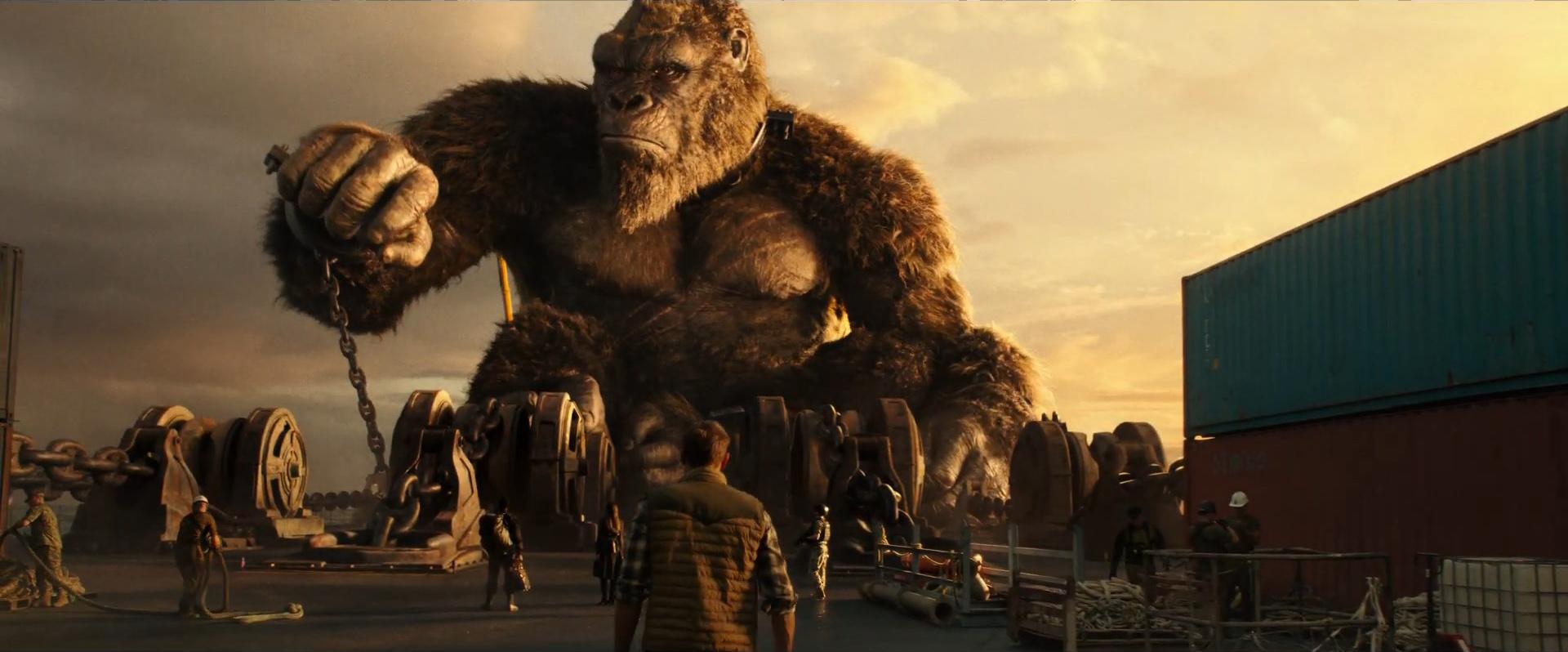 Godzilla vs Kong Trailer Still 10 - Kong awakens