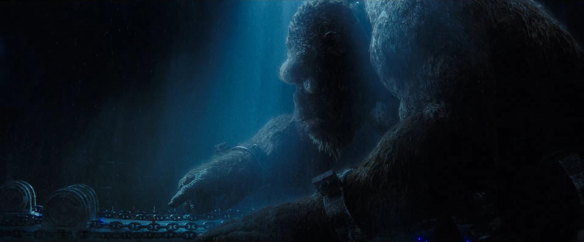 Godzilla vs Kong Trailer Still 22 - Kong girl communicate