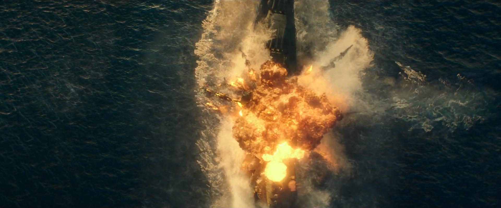 Godzilla vs Kong Trailer Still 28 - Explosion