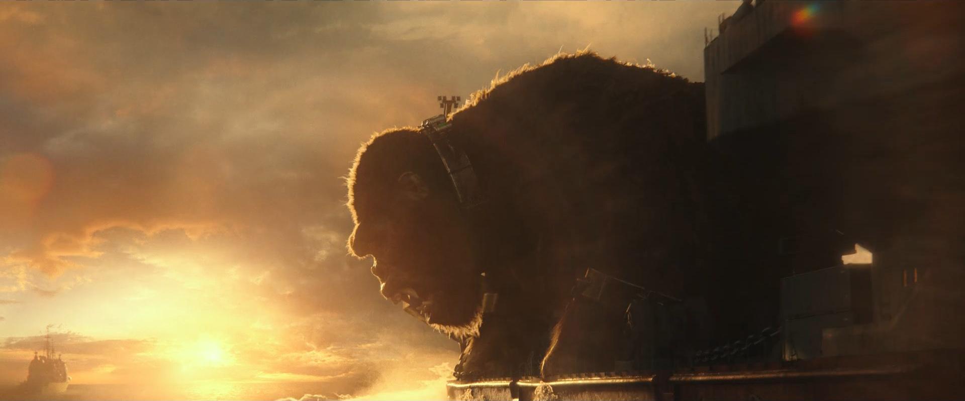 Godzilla vs Kong Trailer Still 35 - Kong awakens Godzilla