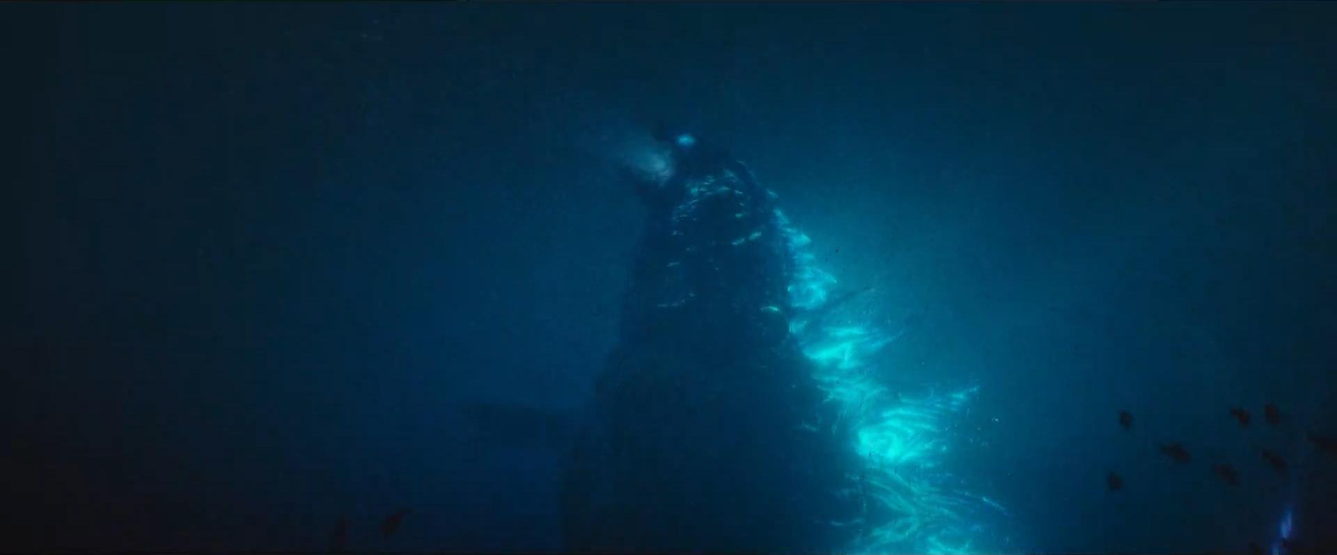 Godzilla vs Kong Trailer Still 45 - Godzilla prepares to fire atomic breath