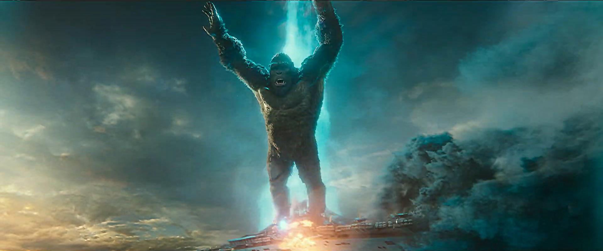 Godzilla vs Kong Trailer Still 47 - Kong escapes