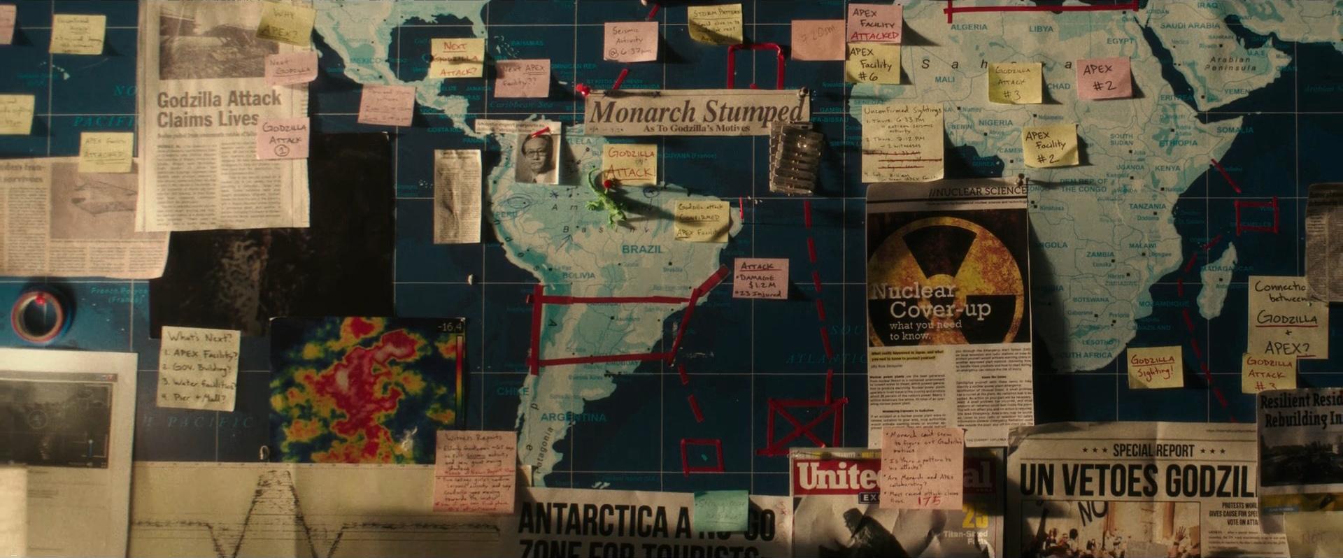 Godzilla vs Kong Trailer Still 55 - Monarch Stumped