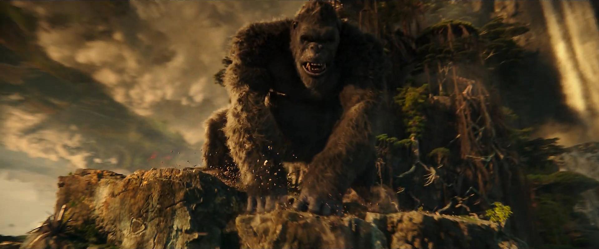 Godzilla vs Kong Trailer Still 60 - Kong Smash