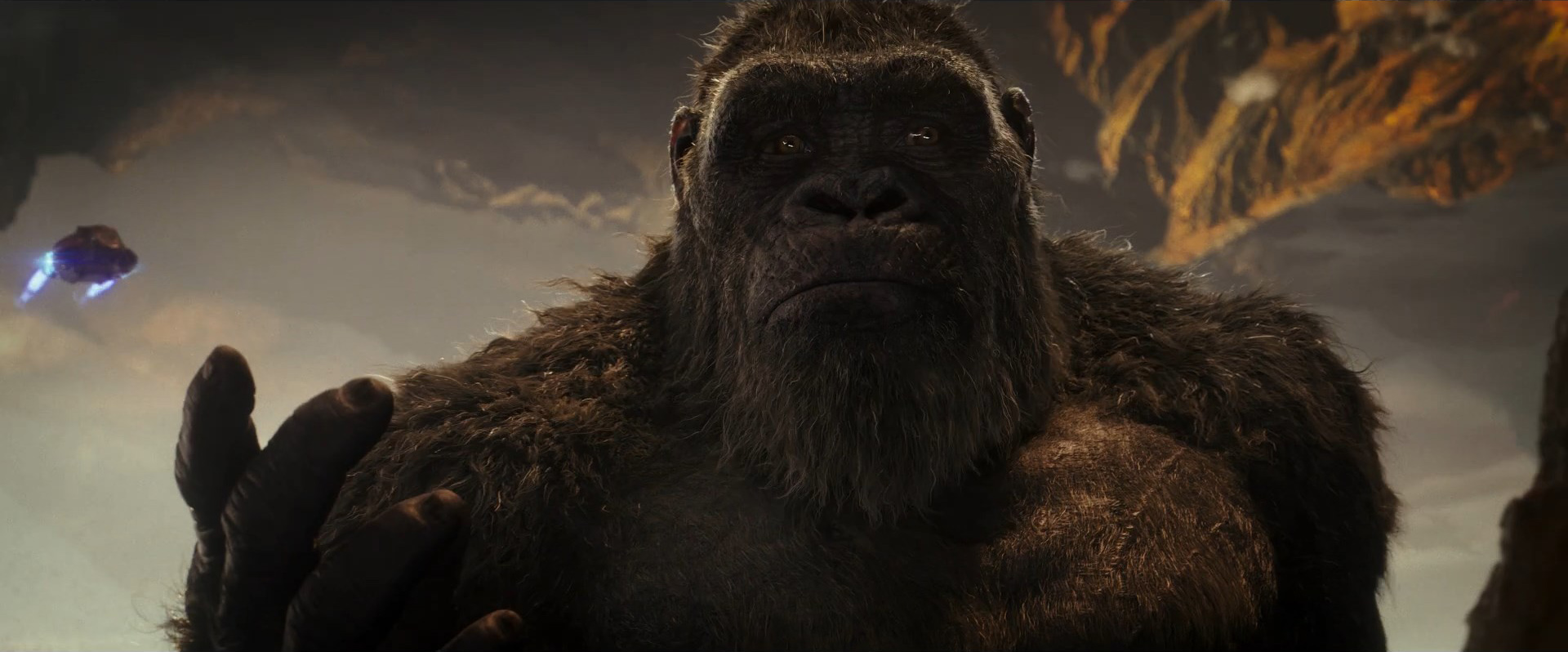 Godzilla vs Kong Trailer Still 62 - Kong emotional