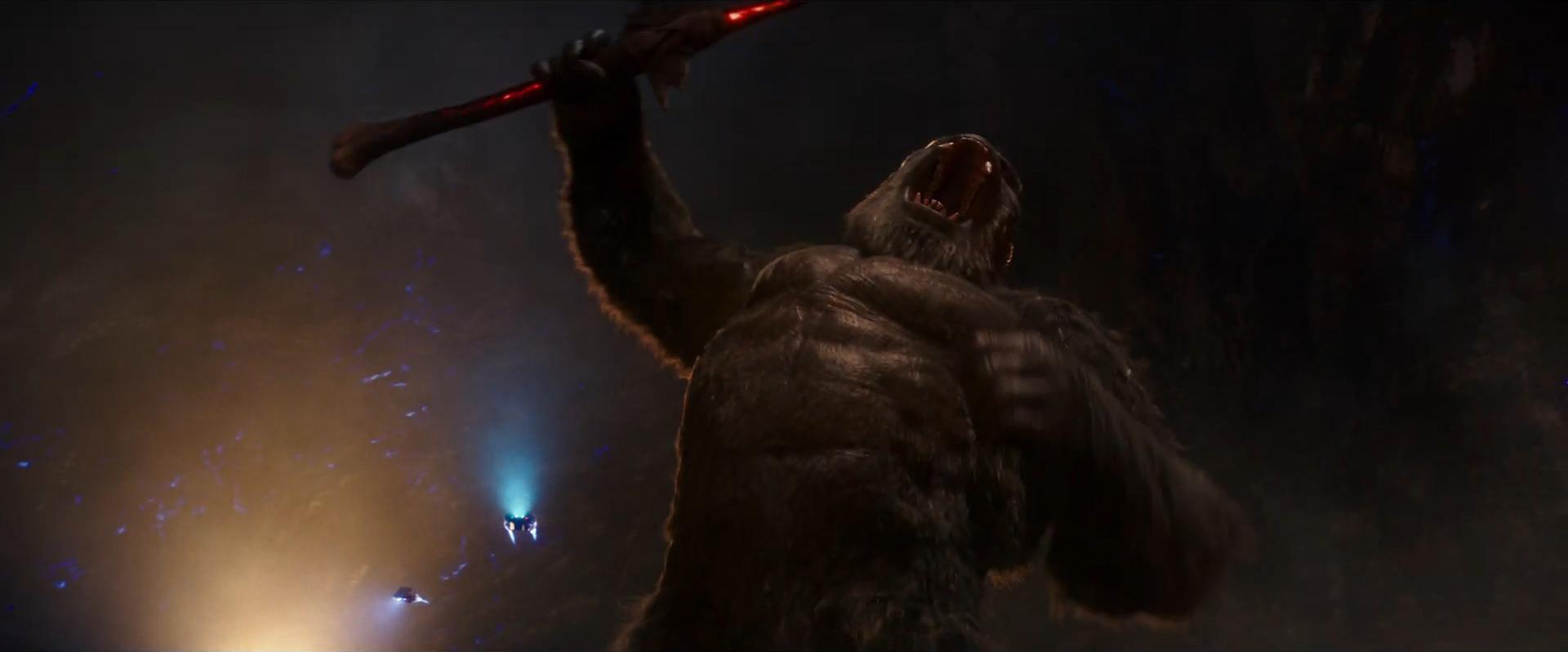Godzilla vs Kong Trailer Still 64 - Kong angry