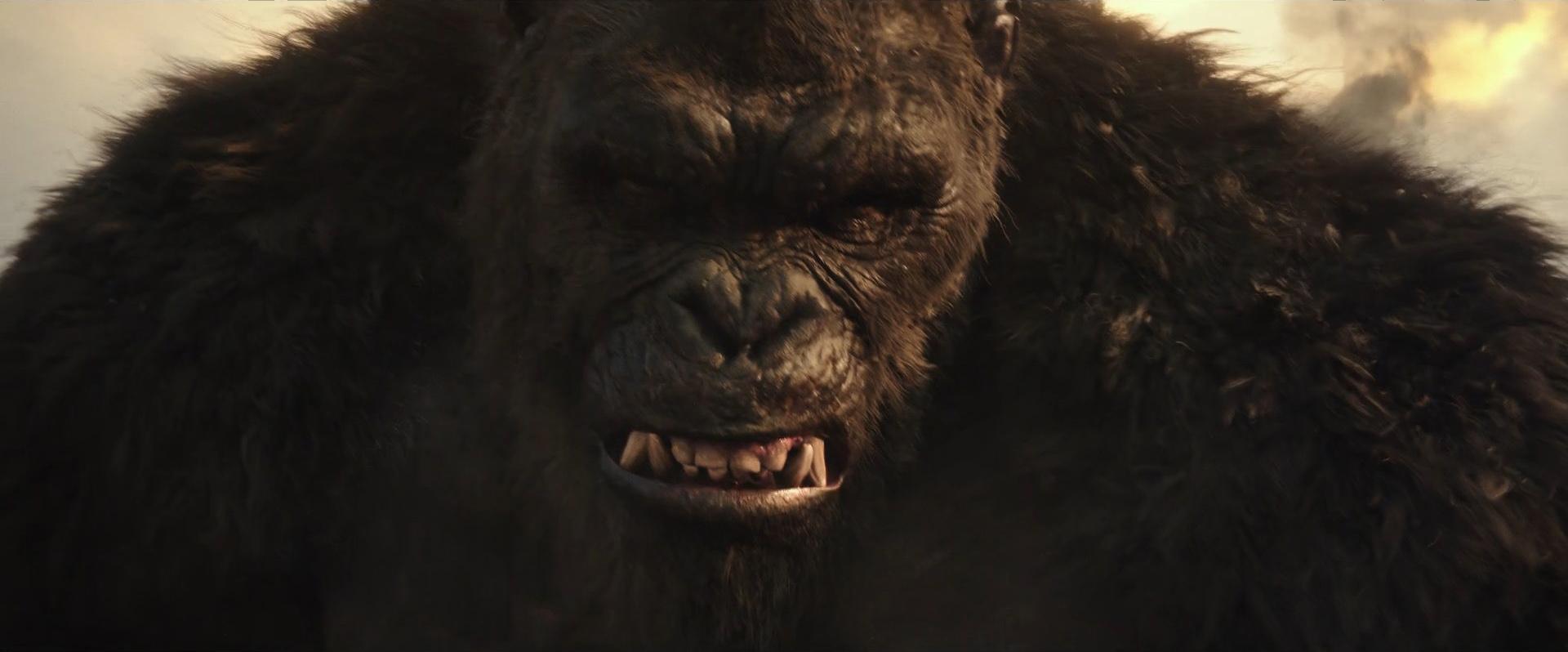 Godzilla vs Kong Trailer Still 68 - Kong angry