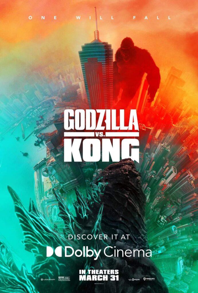 Godzilla vs Kong Dolby Poster