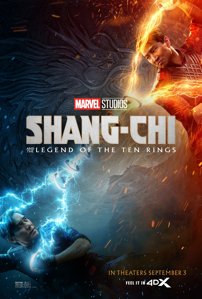 Shang-Chi And The Legend Of The Ten Rings 4DX Poster