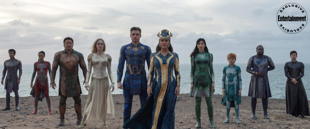 The Eternals Team Shot Hi-Res Entertainment Weekly